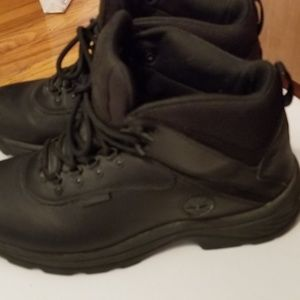 Timberland Mens Black Boots Size 10 #12122